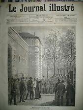 GUILLOTINE EXECUTION CAMPI BOURREAU DEIBLER TRAIN ST-CLOUD L'ETANG GRAVURES 1884