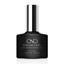 CND SHELLAC LUXE 60 Second Removal GEL POLISH Pick from 65 Colors or Top NEW '18