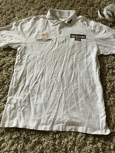 Yorkshire Tea Cricket Polo Shirt Size Large