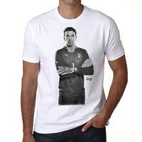 Gianluigi Buffon 1 t shirt homme, Manches Courtes, Coton blanc cadeau
