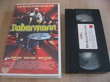 DOBERMANN VHS TCHECKY KARYO VINCENT CASSEL MONICA BELLUCCI