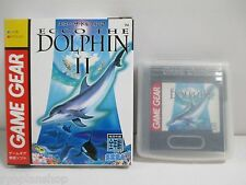 GAME GEAR -- ECCO THE DOLPHIN II 2 -- SEGA JAPAN. Clean & Work fully!14807