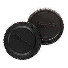 Objektivrückdeckel + Gehäusedeckel Deckel für Olympus Panasonic Lumix MFT M4/3