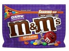 Dark Chocolate M&M's American Candy USA M&Ms NEW Resealable BAG