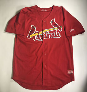 St. Louis Cardinals Game Used Jersey #18