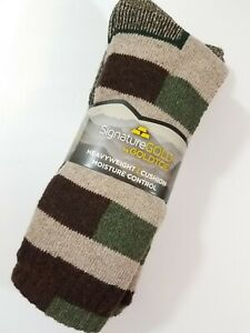 Gold Toe Heavyweight Boot Socks Wool Blend Moisture Control 2 Pair Full Cushion