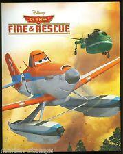 AUSTRALIA DISNEY PLANES. FIRE & RESCUE, SET OF TWO SHEETS IN FOLDER