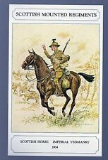 #GWS/M142 Scottish Horse - Imperial Yeomanry - Military Postcard
