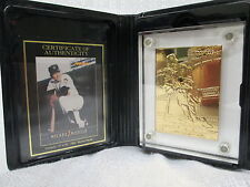 Mickey Mantle New York Yankees Highland Mint L/E Gold Pinnacle 1992 Mint Card