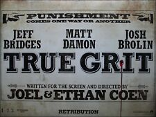 True Grit - Original D/S UK Quad Poster 40 x 30 inches Advance - Coen Brothers