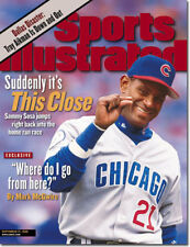 September 21, 1998 Sammy Sosa Chicago Cubs Sports Illustrated