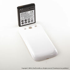4300mAh Extended Battery for Samsung Galaxy S3 White Cover