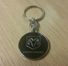 Mopar Dodge Ram Mossy Oak Logo Schlüsselanhänger Anhänger Keychain Gürtelclip Automobilia