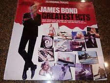 James Bond Lp Greatest Hits 20 Original Tracks Paul McCartney Lulu Nancy Sinatra