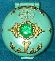 Polly Pocket Jeweled Forest Princess COMPLETE 1992 Bluebird Vintage Jewel