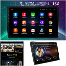 """9"""" Android 7.1 Double 2DIN In dash Car stereo Radio Player GPS WiFi Mirror Link"""