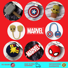 Marvel Figure - Wire Cable Charger Protector Saver & Winder Magnetic Holder