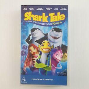 Shark Tale Dreamworks Home Entertainment. Brand New - VHS Tape D2