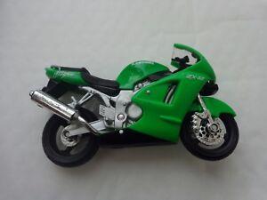 1/18 MAISTO - KAWASAKI NINJA ZX-12R - DIECAST MOTORBIKE MOTORCYCLE BIKE MODEL