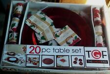 The Great Find Floral Damask 20pc Table Set - VARIOUS SETS - BRAND NEW