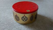 MARKS AND SPENCER Christmas Rotating Bauble Musical Biscuit Tin (Empty)