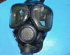 OEM 3M Full Face Mask Dual Port Respirator FR-M40-10  Size Small  *NO Cartridges