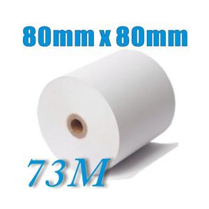 48 Rolls 80x80mm Thermal Paper, Cash Register, Receipt Rolls Melbourne Stock