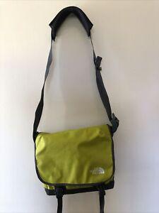 North Face LCD Green Messenger Bag