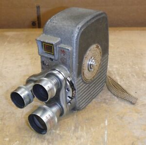 Vintage Keystone Capri K27 Movie Film Camera 8mm Used Condition *bw5
