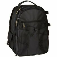 Amazon Basic Camera Backpack 21.1L Black For Slr