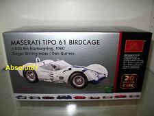 1:18 CMC M-047 Maserati TIPO 61 Birdcage Nürburgring 60 Stirling Moss Dan Gurney