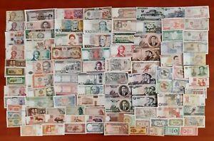 100 Banconote dal Mondo FDS/UNC (Tutte Diverse)  Lotto-03