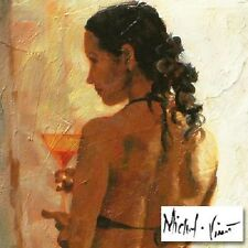 Cosmopolitan Lady LIMITED EDITION Giclee on Canvas by Michael Vincent