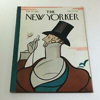 The New Yorker: February 25 1980 Full Magazine/Theme Cover Rea Irvin