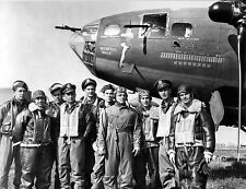 Memphis Belle  crew USA  WW II Completed it's 25th mission 8 x 10 Photograph