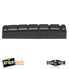 Graph Tech Black TUSQ Pt-6643-00 43x6mm 6 String Electric Guitar Nut
