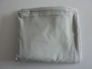 NEXT KING SILVER GREY FITTED SHEET