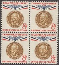 Scott # 1175 - US Block Of 4 - Mahatma Gandhi - MNH -1961