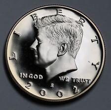 2002 S US Kennedy Half Dollar GEM FDC ++Cameo