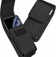 New Universal Nylon Holster Case with Belt Hook Pouch Bag For All Apple iPhone