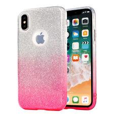 ^ Shine Case Glitzer Blink Schutz Ombre Handy Etui Für Huawei P20 Pro Rosa