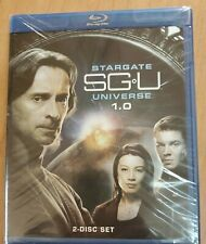 Stargate SGU Universe 1.0 This is 2-Disc Blu-ray Set, 2009) New Factory Sealed