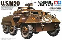 Tamiya 35234 1/35 Scale Military Model Kit WWII US M20 Armored Utility Scout Car
