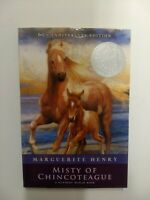 NEW Misty of Chincoteague by Marguerite Henry Paperback (110156)