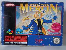 SNES juego-Young Merlin (con embalaje original pero sin instrucciones) (PAL) 10637005