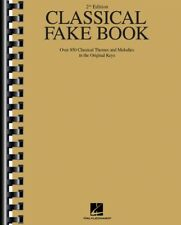 Classical Fake Book 2nd Edition Over 850 Classical Themes and Melodies 000240044