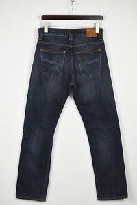 Nudie Jeans & Co.Straight ALF Indigo Night Homme W30/L32 Organique Jean 36563-GS
