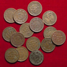 15 OLD Mexican One Centavo Coins 30's & 40's - L@@K