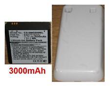 White Shell + Battery 3000mAh type EB575152VU G7 For SAMSUNG GT-i9000