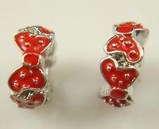 European Silver Charm Bead Fit sterling 925 Necklace Bracelet Chain US hot kk34